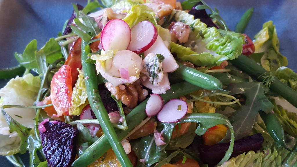 Beets bring a special kind of deliciousness to this salad. Unbeetable Unbeetable Salad featuring beets Dec 2015