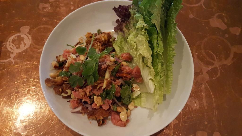 Ms. Dang Crispy Rice on Fire. otus thai kitchen Otus Thai Kitchen & Coffee: A Writerly Cafe with Legit Food Otus Ms Dang Crispy Rice on Fire small